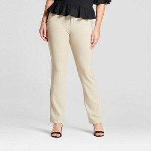 A New Day Women's Bootcut Curvy Bi-Stretch Twill P